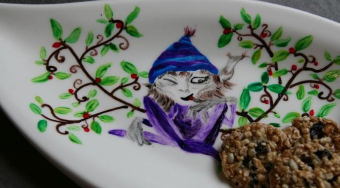 Pimp up your dinnerware…. oder frisch dein Porzellan mit Farbe auf! Porzelanmalerei!