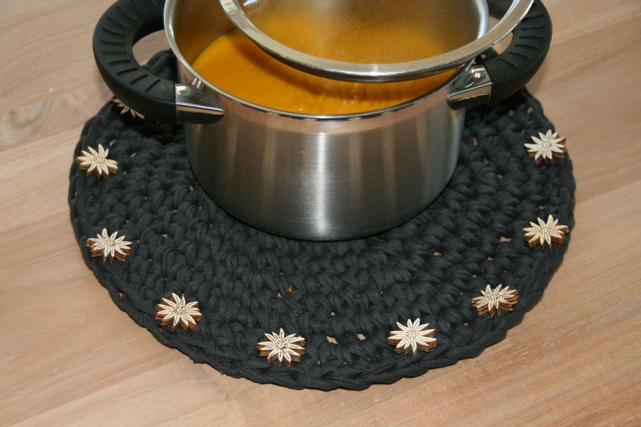 Topfset aus Textilgarn Zpagetti