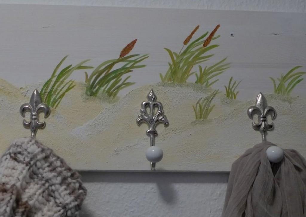 Gardrobe, Dünenlandschaft, Holz bemalen, DIY