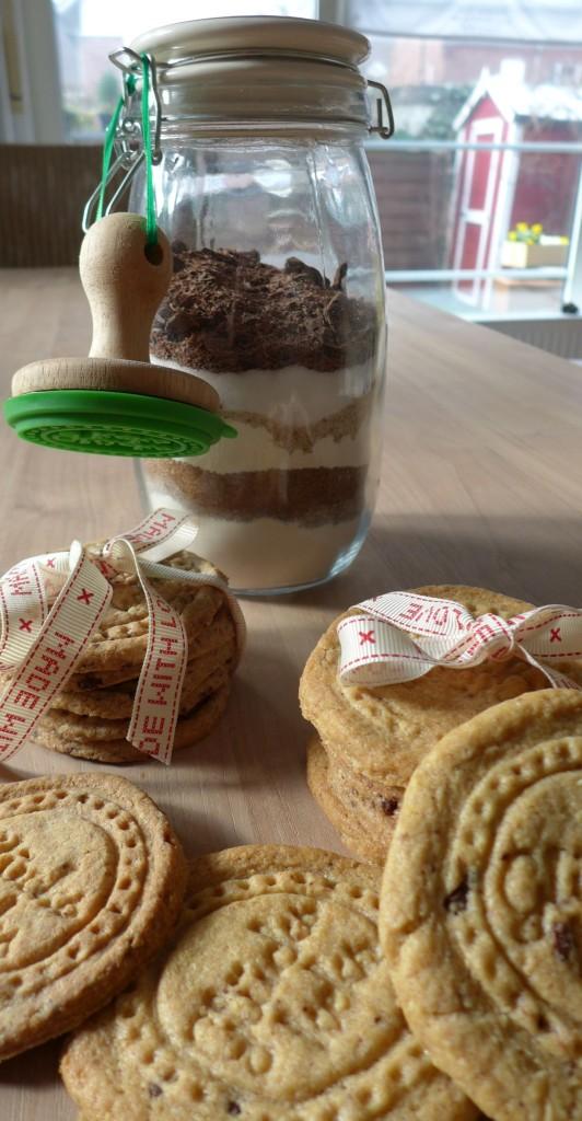 Cookies Schokoladen Cookies Plätzchen Keksstempel Plätzchenstempel Schokoldenplätzchen USA Plätzchen