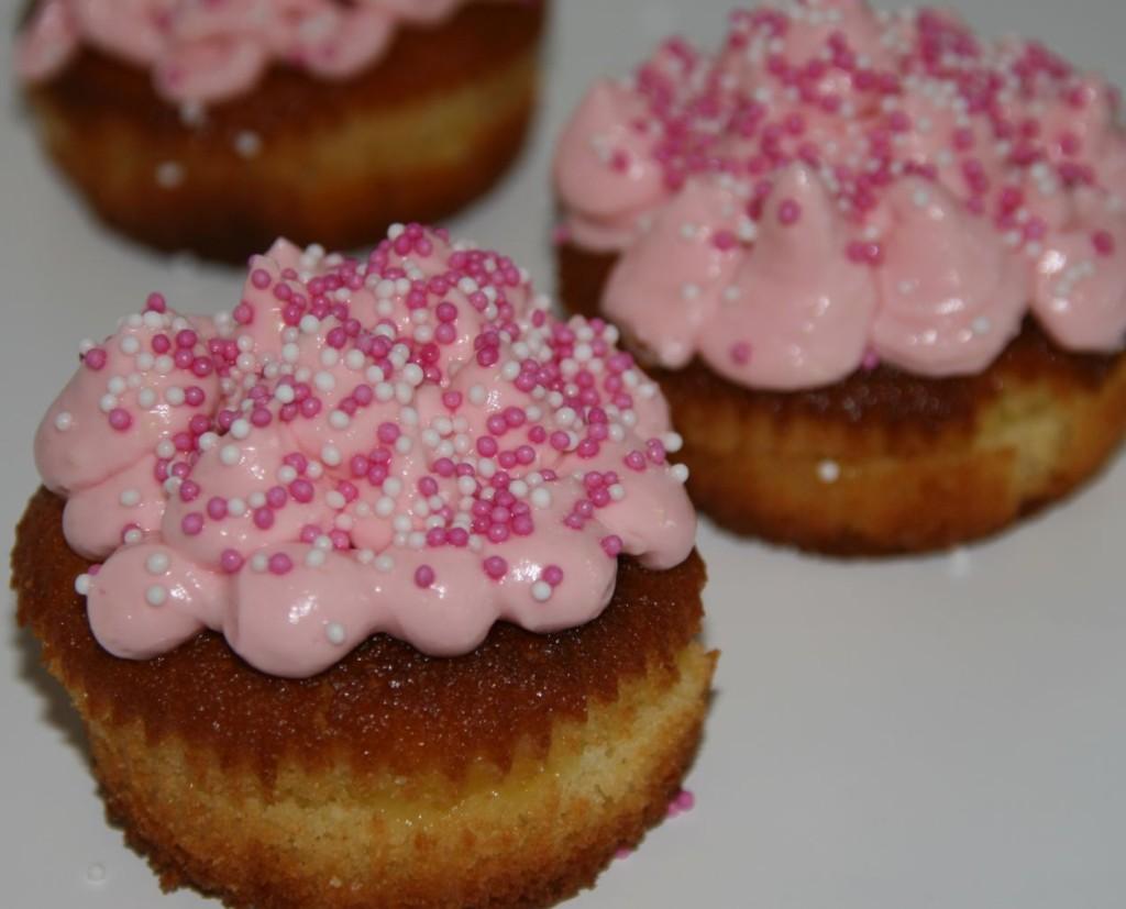 Lemin Toppin Zitronen Muffins