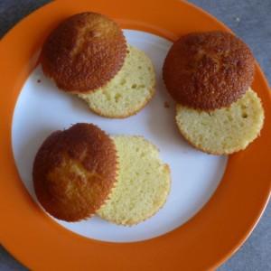 Muffins Cupcakes Lemin Zitrone Curd Füllung