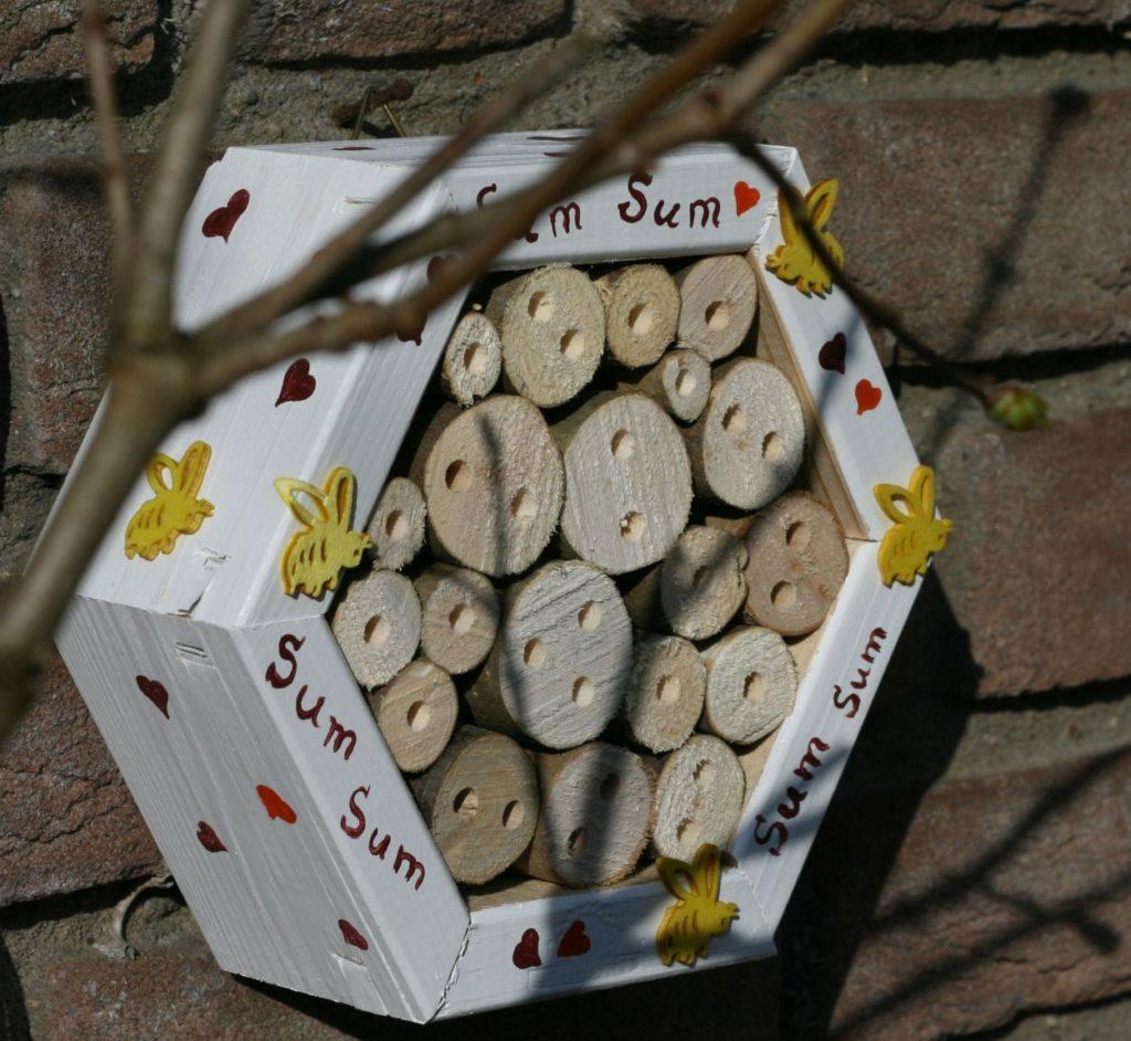 Wildbienen Bienen Nisthilfe