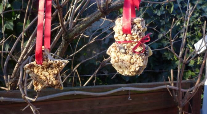 Futterbaum für Gartenvögel