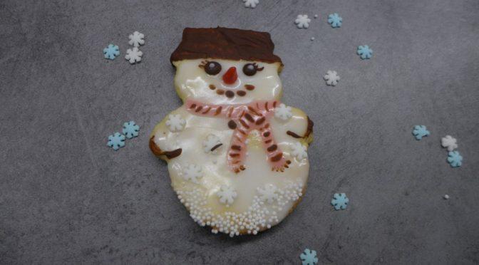 Schneemannplätzchen ghörem im Winter dazu!