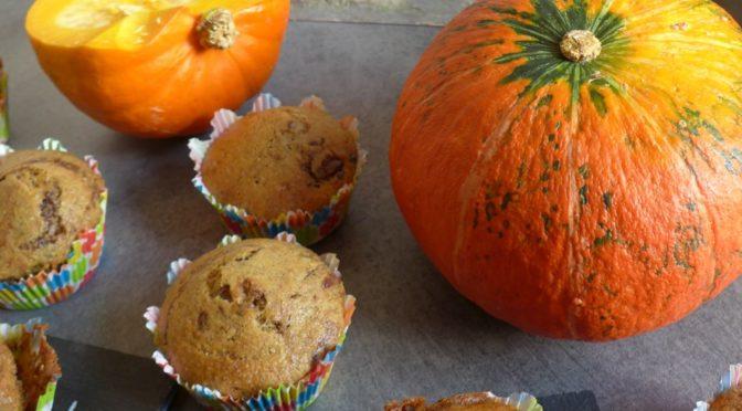 Herbstzeit :  Kürbis Chai Muffins
