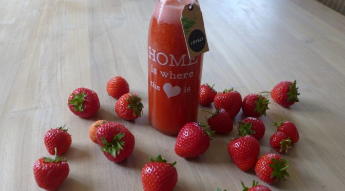 Erdbeerlimes für Genießer