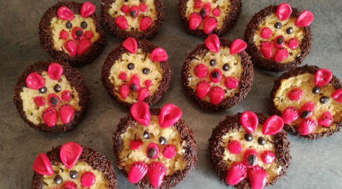 Süße Igel Muffins